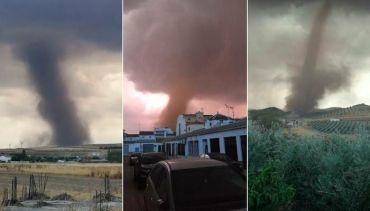 Y no hubo solo un tornado, hubo 3 ese mismo día en la misma zona...