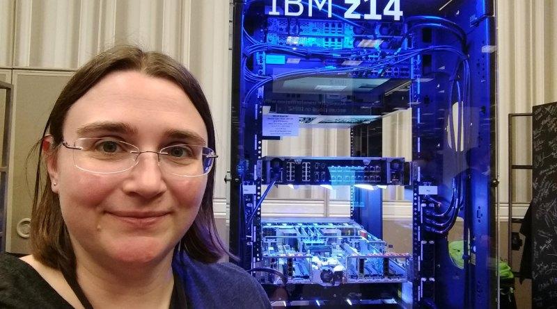 Elizabeth con el IBM z14