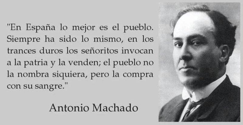 Antonio Machado - Patria