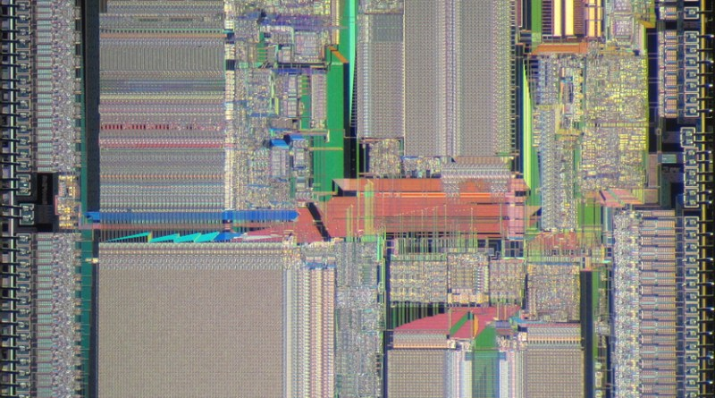 AMD Am29k die shot