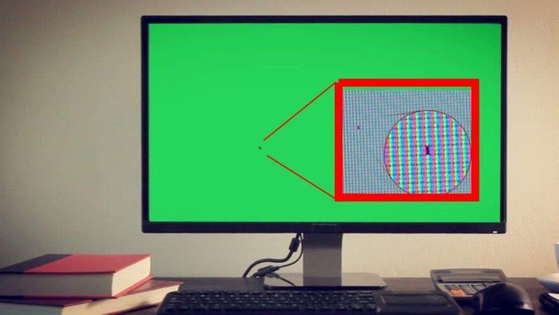pixel muerto