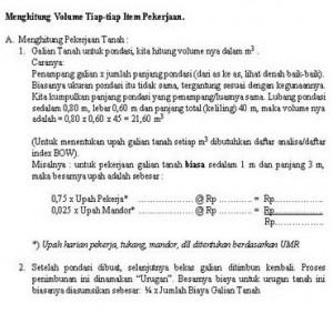 Volume Pekerjaan-1
