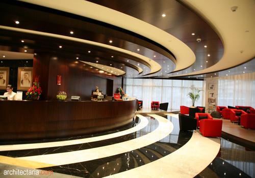 Hasil gambar untuk desain interior lobby hotel