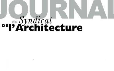 N°24 Journal du Syndicat de l'Architecture