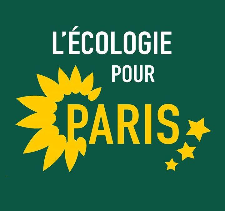 Logo de l'écologie pour Paris