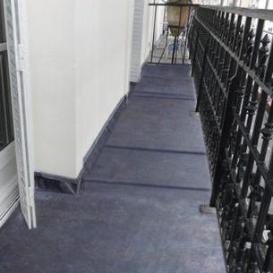 étanchéité balcon pierre