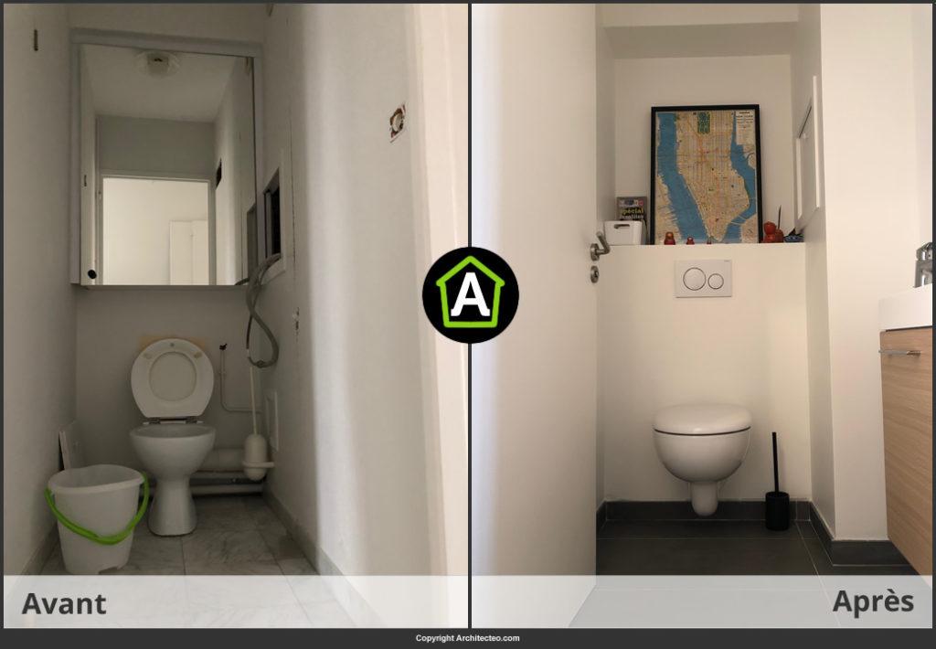 prix d un wc suspendu pose comprise