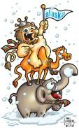lion-camel-elephant-alaska