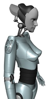 Project Female Android Render A