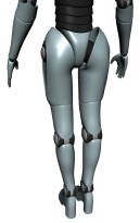 Project Female Android Render C