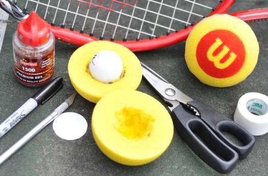 How To Make Your Own Sound Adapted Tennis Balls For Blind ...