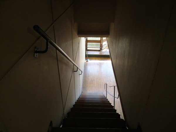 マルセイユのユニテ・ダビタシオン|メゾネットタイプの住戸