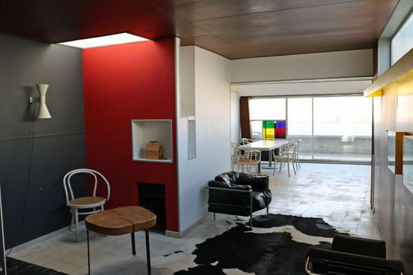 ポルト・モリトーの集合住宅|ル・コルビュジエのパリの自宅