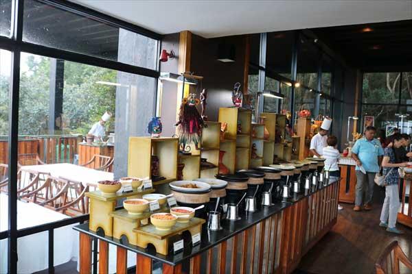 Heritance Kandalama(Sri Lanka)KANCHANA restaurant