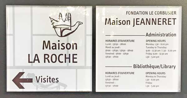 ラ・ロッシュ=ジャンヌレ邸|ル・コルビュジエ建築|フランス(パリ)