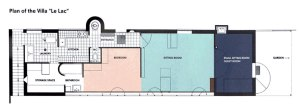レマン湖畔の小さな家(間取り図・図面・プラン)/ル・コルビュジェ建築/スイス