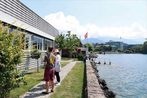 レマン湖畔の小さな家(湖の家)/ル・コルビュジェ建築/スイス
