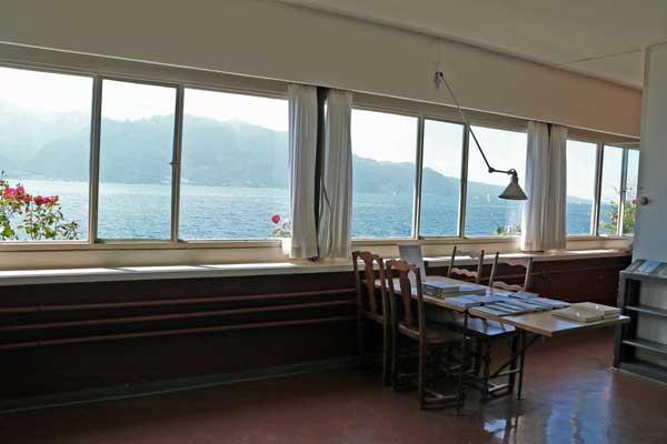 レマン湖畔の小さな家(内部)/ル・コルビュジェ建築/スイス