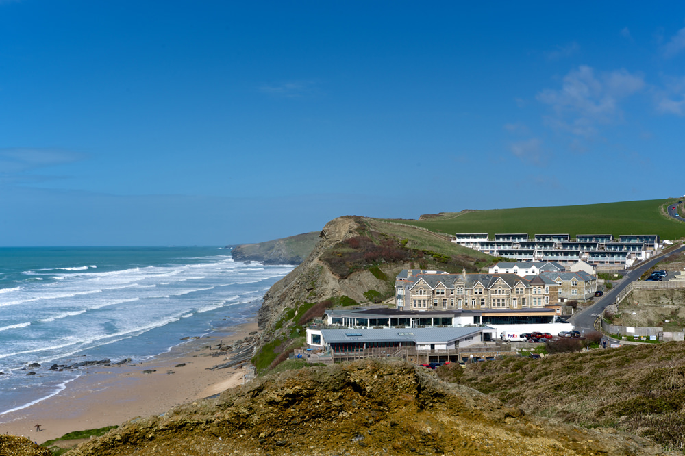 ADG Architects Design Group Architecture Design Graphics The Village Watergate Bay Cornwall