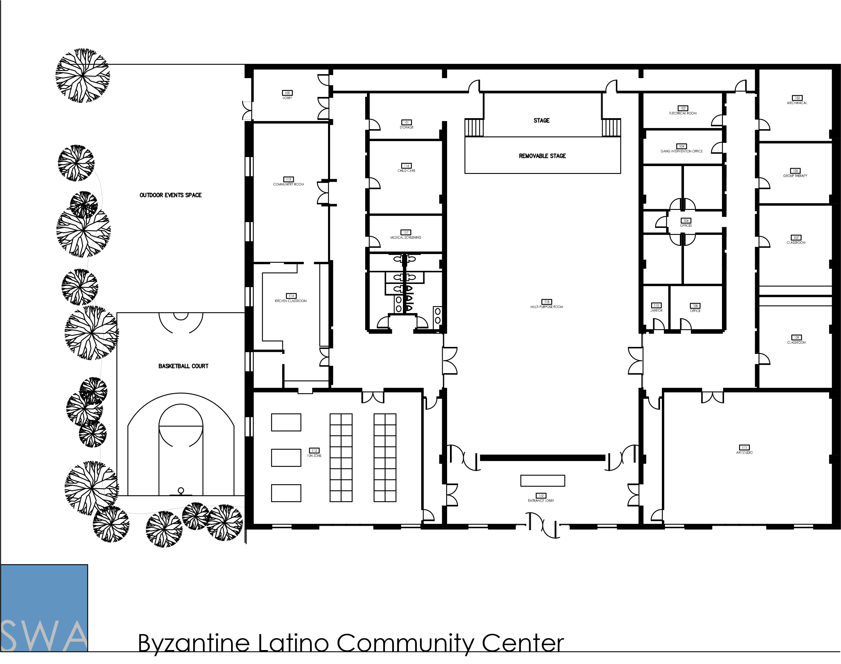 Byzantine Latino Community Center