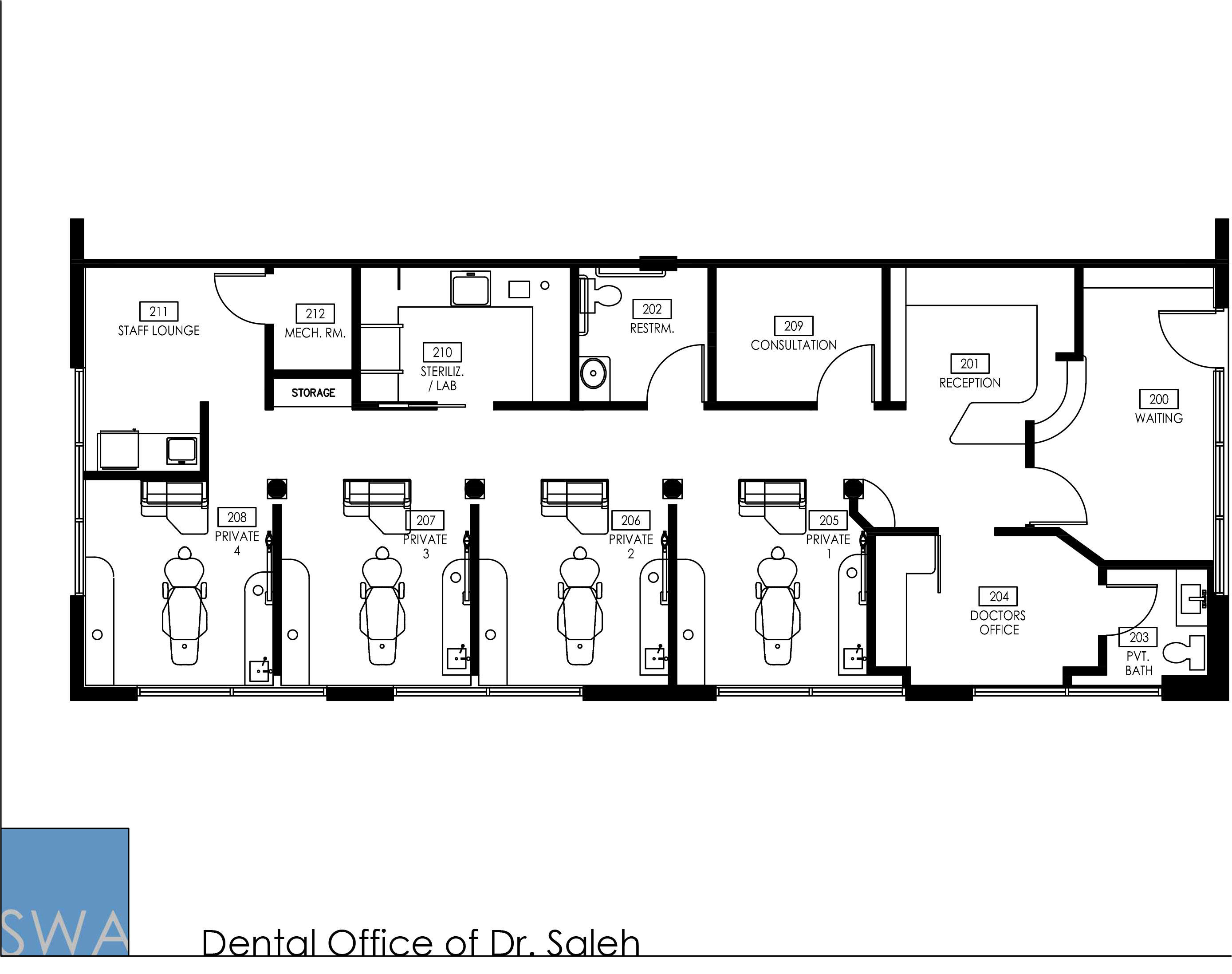 The Dental Office Of Dr. Saleh