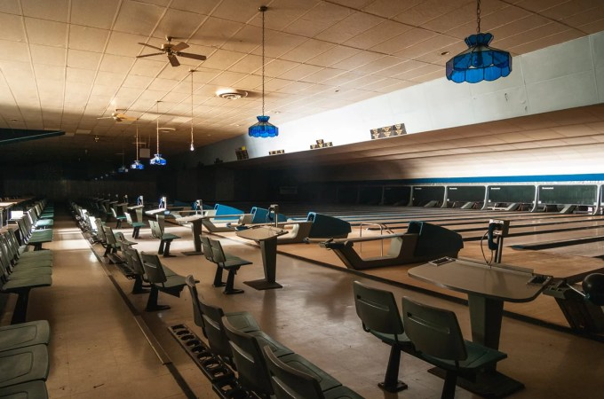 An Abandoned Bowling Alley Untouched For Years