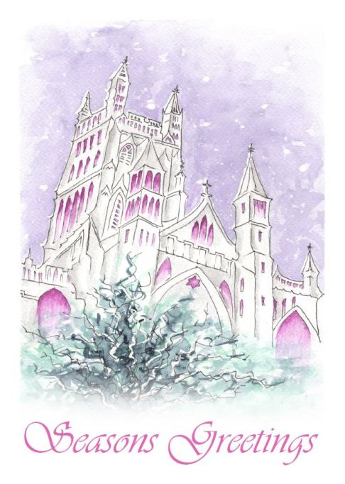 Cathedral Lilac Front