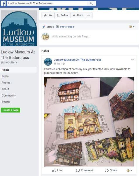 Ludlow facebook page