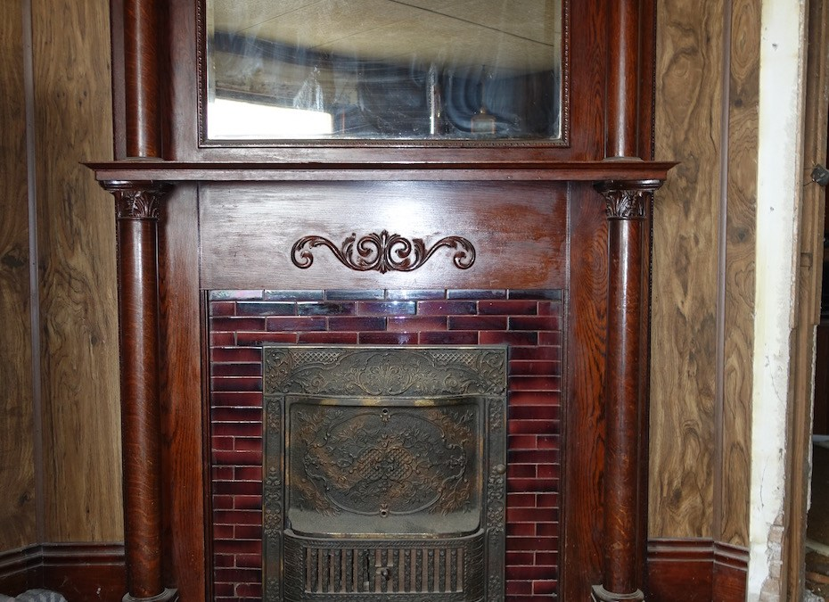Removing a Fireplace Mantel and Tile Surround