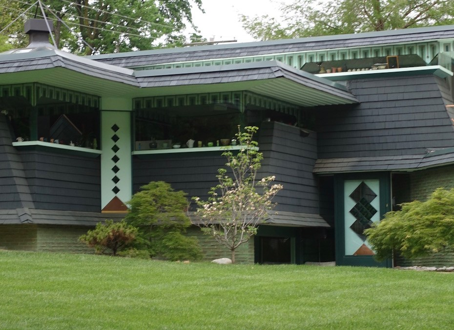 Bruce Goff's Hyde House