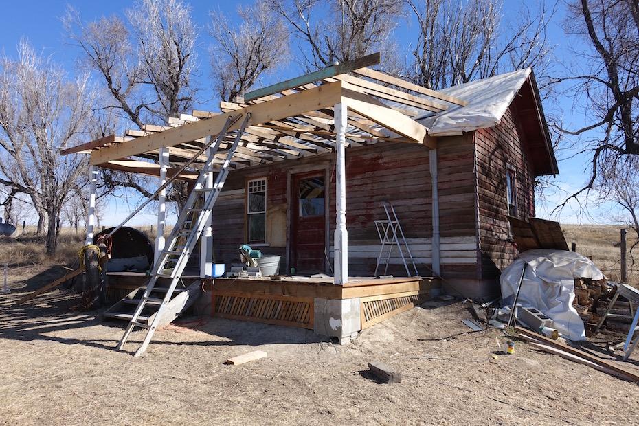 "Backdating a ""Teardown"" – Part 3: The Bunkhouse Gets a Porch"