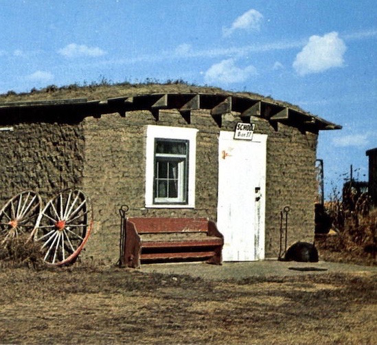 Remnants of a Sod House
