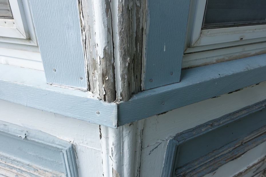 Porch and Bay Window Restoration Begin