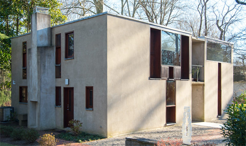 Esherick House by Louis Kahn
