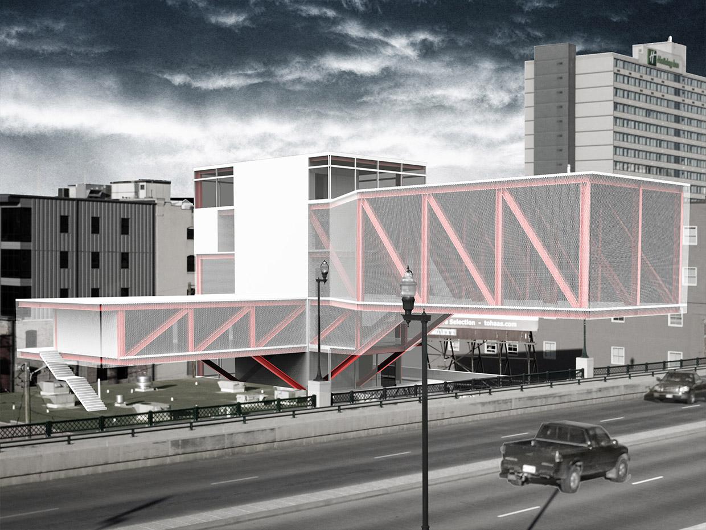 The Cantilever College Of Architecture Nebraska