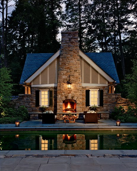 Amazing Outdoor Fireplace | Architecture & Interior Design on Amazing Outdoor Fireplaces  id=25064