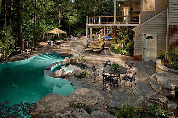Stunning backyard design | Architecture & Interior Design on Yard Remodel Ideas id=23498