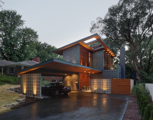 17 Gorgeous Mid-Century Modern Exterior Designs Of Homes