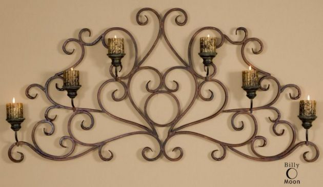 Wrought Iron Candle Holders- Beautiful Decoration For The