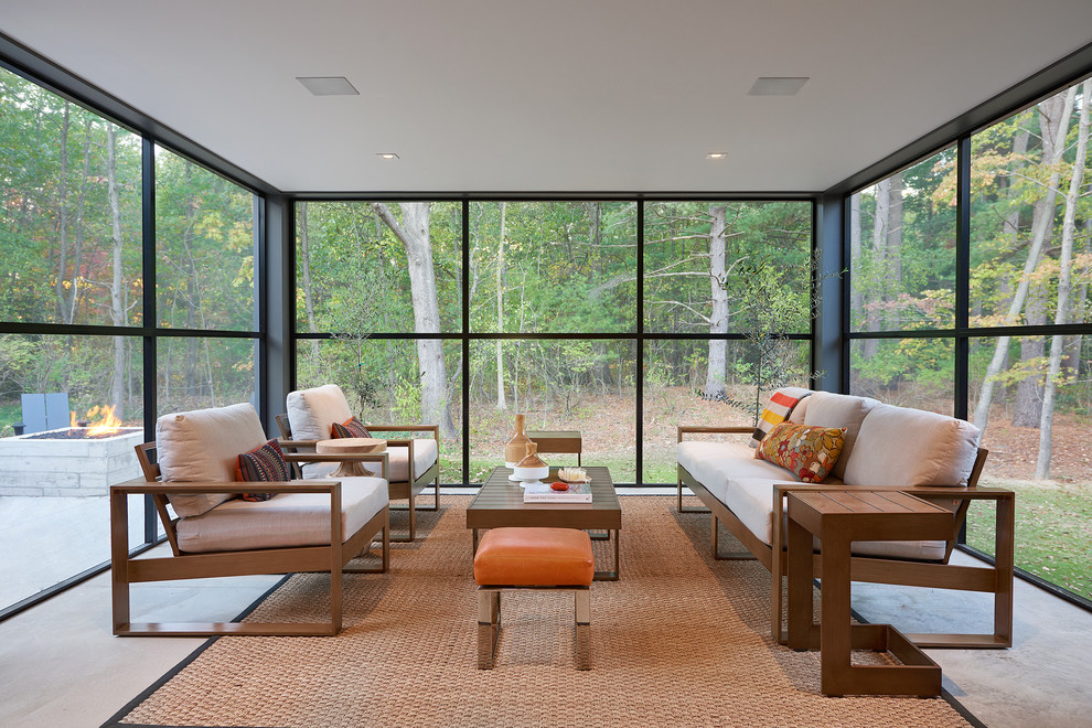 16 Irresistible Modern Sunroom Designs That Will Secure