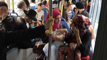 Bus in Jerusalem