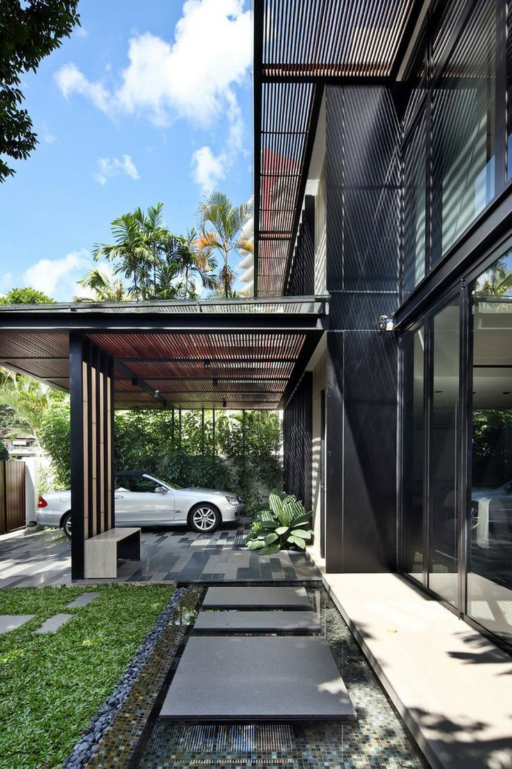 40 Modern Entrances Designed To Impress! - Architecture Beast on Modern Entrance Design  id=94443