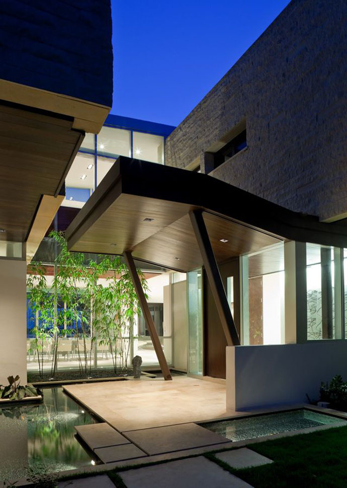 40 Modern Entrances Designed To Impress! - Architecture Beast on Modern Entrance Design  id=78762