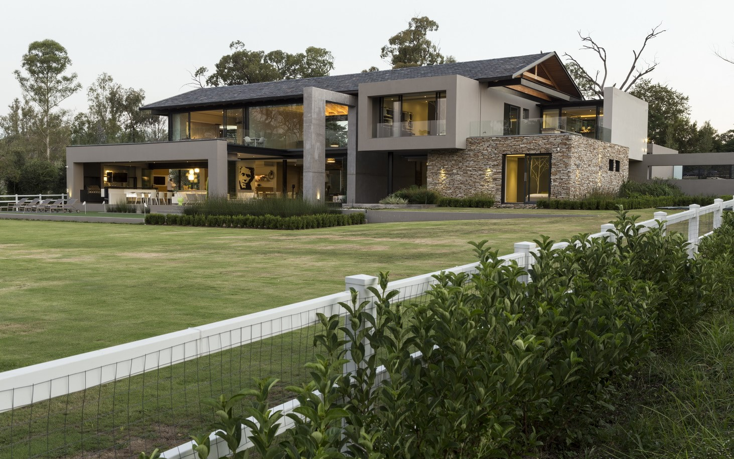 Contemporary House In Blair Athol South Africa