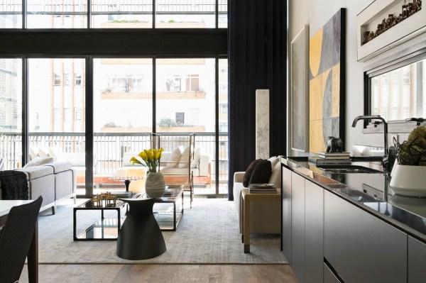 Modern Industrial Interior Design In Beautiful Open ...