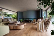 Modern Wood Living Room Design