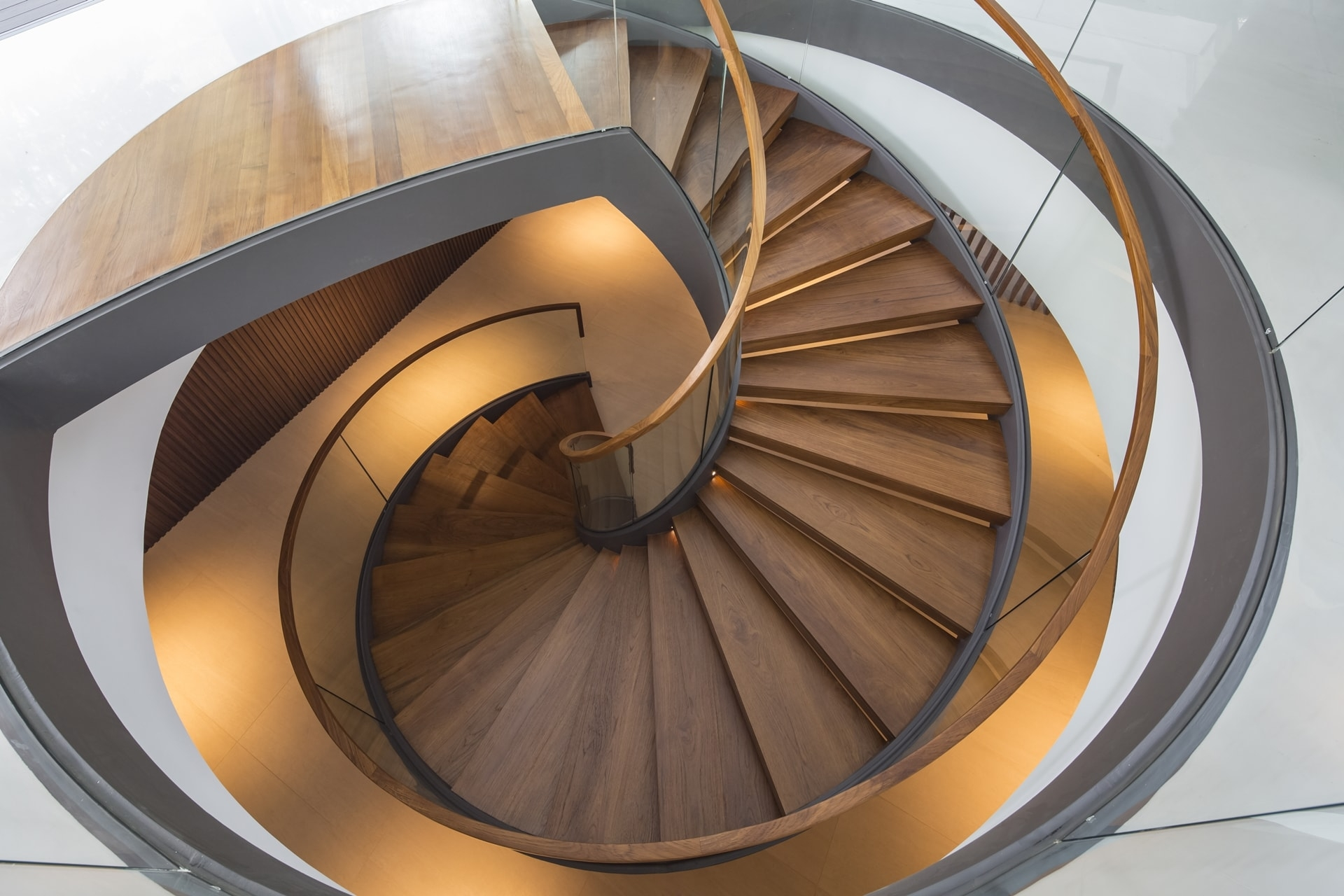 Top 10 Best Spiral Staircase Ideas Architecture Beast   Steel Round Staircase Design   Stair Steel Grill   Top Floor Railing   Terraced House   Semi Circular   Circle Stair