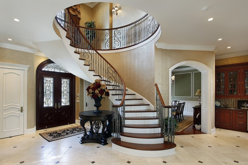 Curved Staircase An Architect Explains Architecture Ideas | Types Of Spiral Staircase | Divine | Elegant | Exterior | Free Standing | Aqua