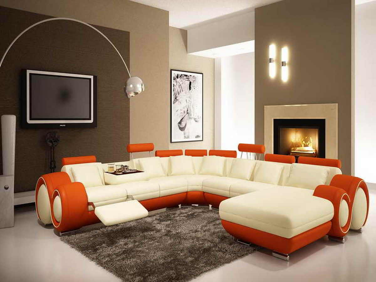 Brown Accent Wall Colors Living Room Architecturein