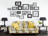 Cool Ideas To Display Family Photos On Your Walls, Select frames of the same color